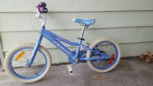 "Opus glitter 16"" kids bike"
