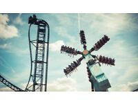 10 Thorpe Park tickets july 27th selling for super cheap