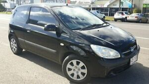 2008 Hyundai Getz TB MY09 S Black 5 Speed Manual Hatchback Bungalow Cairns City Preview