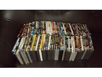 100 DVD FILMS ALL WORKING as new
