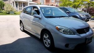 2007 Toyota Matrix With New Tires, Brakes and Muffler