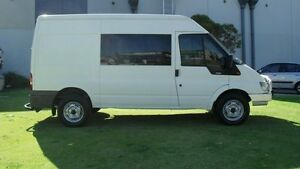 2004 Ford Transit VH Mid Roof MWB White 5 Speed Manual Van Silver Sands Mandurah Area Preview