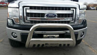 PUSH BAR GRILL GUARD STAINLESS CHROME
