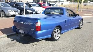 2006 Holden Commodore VZ SV6 Blue 6 Speed Manual Utility Victoria Park Victoria Park Area Preview