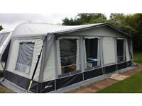 Caravan Full Awning: Inaca Siena 250 Terracotta. 950cm ('A'-measurement). Excellent condition.