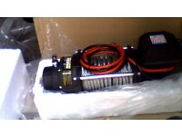 sealey rw 8180 recovery winch 12v 8180kg line pull brand new never been used.