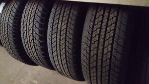 4 pneus neufs 245 60 r20 Yokohama Geolander - prix reduit