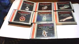 7 x MARY ALLINGHAM 3CD BOX SETS-AUDIO BOOKS-MYSTERIES