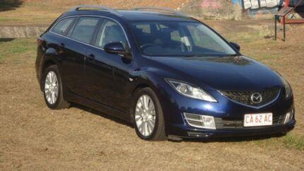 2010 Mazda 6 GH1021 MY09 Blue 6 Speed Manual Wagon
