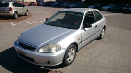 1999 Honda Civic CXI Silver 4 Speed Automatic Hatchback Georgetown Newcastle Area Preview