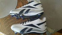 Brand new Reebok cleats, Never used