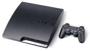 PS3 Slim 500Gb with 2 controllers and 30 games