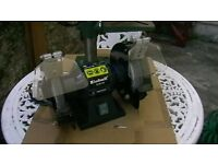 Multi speed Pillar Drill, Bench Grinder(150mm Dia' stones), B&D Mouse sander