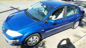 2007 Renault Megane X84 Expression Blue 6 Speed Manual Sedan Granville Parramatta Area Preview