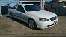 2004 Ford Falcon BA XL White 4 Speed Automatic Utility Yagoona Bankstown Area Preview