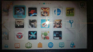 Nintendo Wii U modded 100 games on hard drive