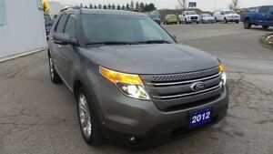 2012 Ford Explorer Limited, Lthr, Moon, Nav, Local Trade In Kitchener / Waterloo Kitchener Area image 7