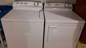 Maytag Performance Washer and Dryer