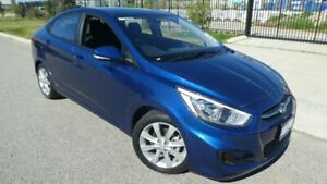 2017 Hyundai Accent RB5 MY17 Sport Blue Metallic 6 Speed Sports Automatic Sedan Bassendean Bassendean Area Preview