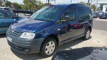 2006 Volkswagen Caddy 2K MY07 1.9 TDI Blue 6 Speed Direct Shift Van Frankston Frankston Area Preview
