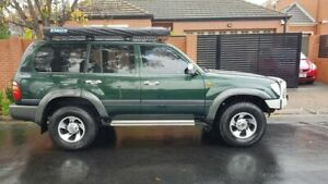 2000 Toyota Landcruiser HDJ100R GXL 5 Speed Manual Wagon Prospect Prospect Area Preview
