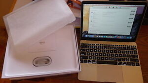 """MacBook 12"""" Gold 1.2 GHz 512SSD 8Gb + extras ( 2400$ value ) !"""