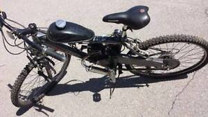 Gas Bike in working order ,Still is available