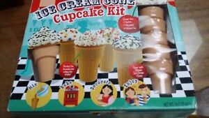 ice cream cone cupcake kit