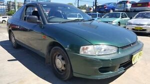 1998 Mitsubishi Lancer CE GLi Green 4 Speed Automatic Coupe Wentworthville Parramatta Area Preview