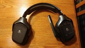 Casque d'écoute Logitech G930   Wireless   7.1 Surround