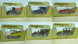 Matchbox Die Cast Commercial Models of Yesteryear