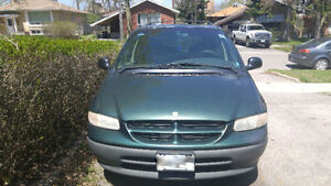 1997 Dodge Caravan Minivan, Van AS- IS