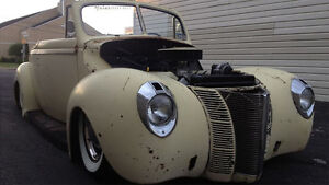 1940 FORD CONVERTIBLE STAINLESS WINDOW TRIM  WANTED