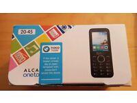 Alcatel 20.45X UK SIM-Free Mobile Phone - Black