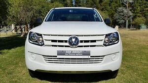 2014 Volkswagen Amarok 2H MY15 TDI420 4MOTION Perm Core White 8 Speed Automatic Utility Tanunda Barossa Area Preview