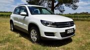 2015 Volkswagen Tiguan 5N MY16 118TSI DSG 2WD Pure White 6 Speed Sports Automatic Dual Clutch Wagon West Hindmarsh Charles Sturt Area Preview