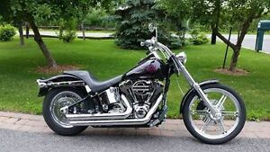 HARLEY DAVIDSON SOFTAIL FXST 2002 FULL CHROME