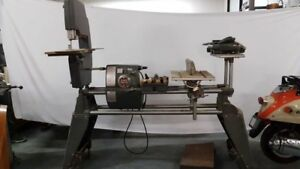 Shop Smith Lathe, Band Saw and Table Saw Combo