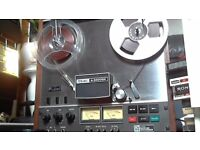 TEAC REEL TO REEL ALL WORKING IN VERY GOOD CONDISHON COMES WITH SOME TAPES AND ONE NAB