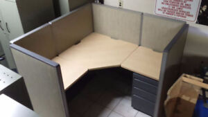 Haworth Office Cubicles; Office Cubicles; Call Centre Cubicles