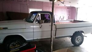 1968 4 x 4 ford f100