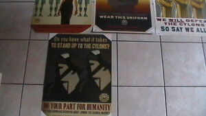 Battlestar Galactica Propoganda Poster Set Kitchener / Waterloo Kitchener Area image 4