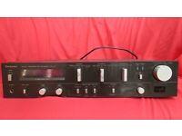 Technics SU-V5 Amplifier, Output 60 Watts per channel (black, with silver controls)