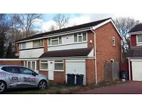THREE BEDROOM SEMI DETACHED PROPERTY IN A SOUGHT AFTER AREA OF HANDSWORTH WOOD ONLY £695.00