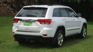 2012 Jeep Grand Cherokee WK MY2013 Laredo White 5 Speed Sports Automatic Wagon