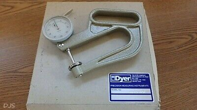 Used Dyer Thickness Gage .0005 Dial Indicator Dr119