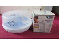 Avent microwave bottle steriliser and Avent bottle and food warmer