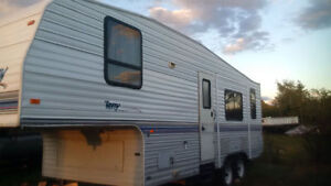 Terry 5th Wheel - Pull Out/Slide 26ft Front & Back door entrance