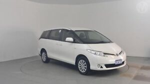2013 Toyota Tarago ACR50R MY13 GLi Crystal Pearl 7 Speed Constant Variable Wagon Perth Airport Belmont Area Preview