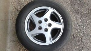 Toyota Camry 15x6 Aluminum Rims with Good All Season Tires